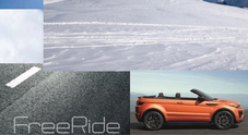 "Range Rover, alla Design Week l'Evoque Convertible è ""freeride"""