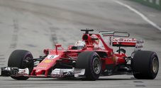 Vettel in pole position: secondo Verstappen. Quarta la Ferrari di Raikkonen
