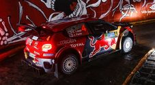 WRC, Lappi (Citroen) scatta in testa nel Rally del Messico