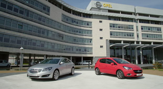 La sede Opel a Russelsheim in Germania
