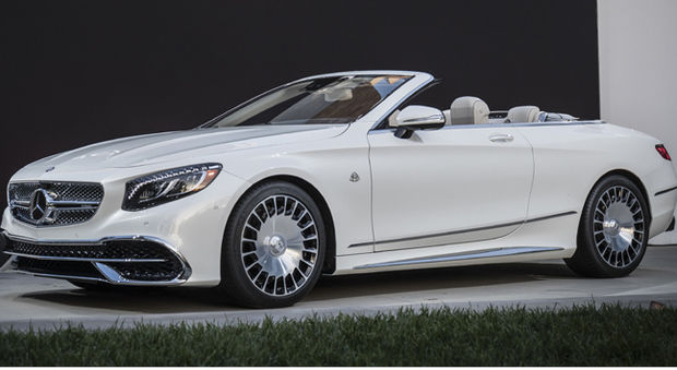 La Mercedes Maybach S650 Cabrio