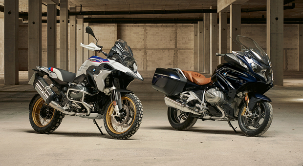 Le nuove BMW R 1250 GS e R 1250 RT