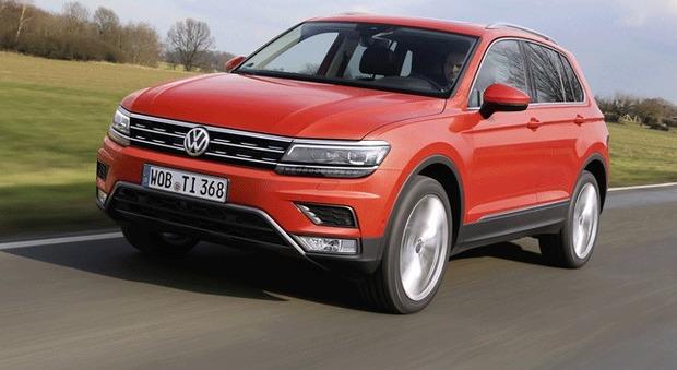 Volkswagen tiguan dimensioni cresciute e nuovo design per for Nuovo design per l inghilterra