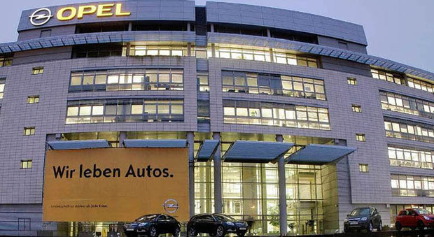 La sede Opel in Germania