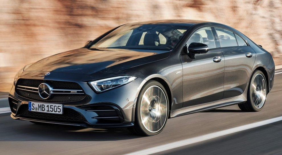 La Mercedes-Amg CLS 53 4Matic+