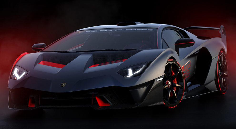 Lamborghini Sc18 Alston Missile One Off Nato Dalla Squadra Corse Aerodinamica Estrema E Motore