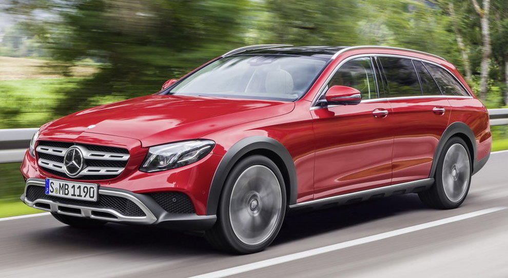La Mercedes Classe E 4Matic All Terrain