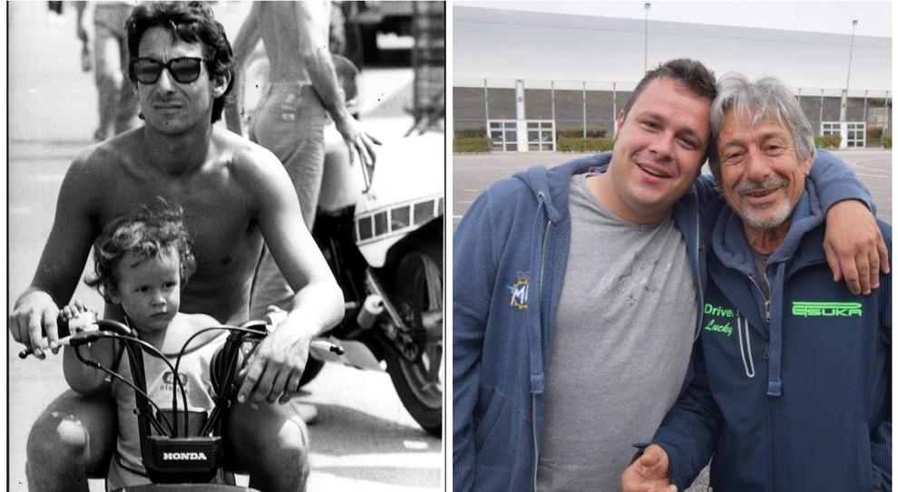 Schianto in moto, muore il figlio di Marco Lucchinelli