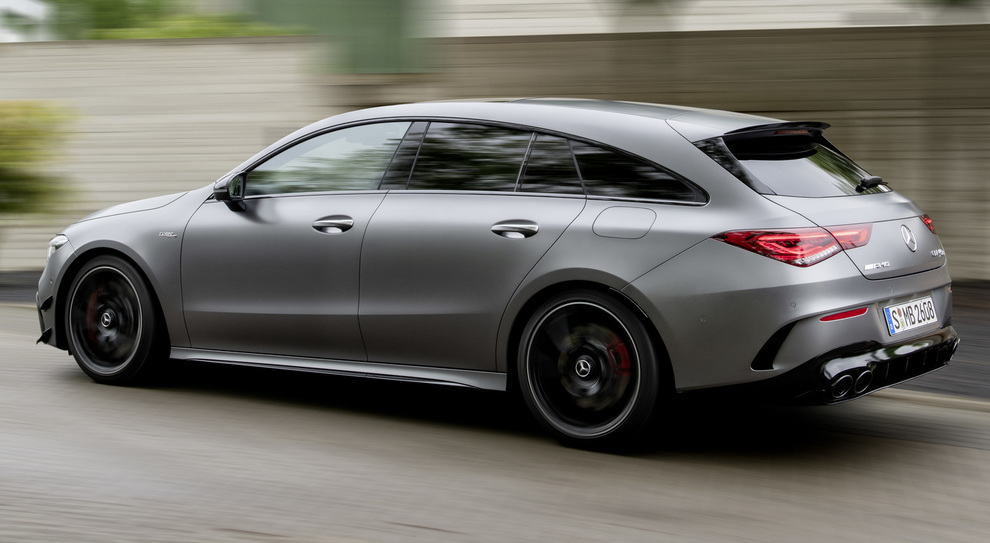 La nuova Mercedes Cla Shooting Brake