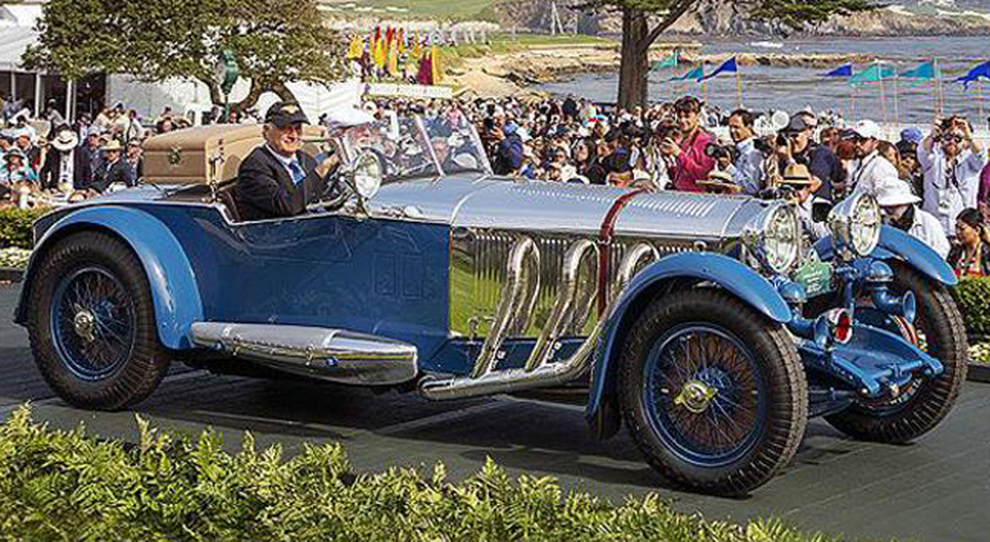 La Mercedes-Benz S Tourer 1929 vincitrice a Pebble Beach