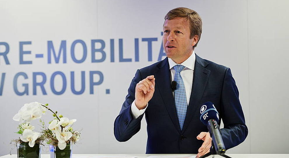 Oliver Zipse, CEO di Bmw AG