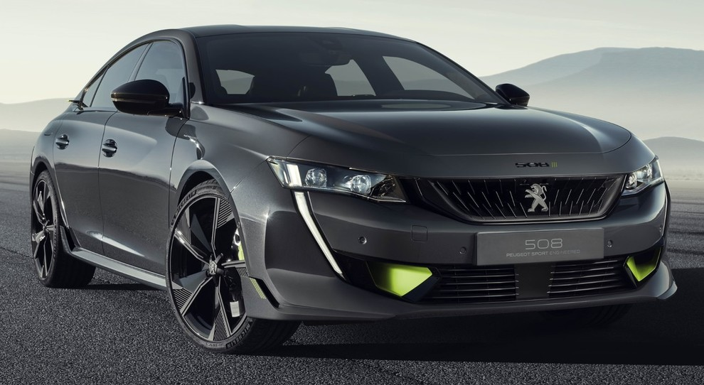 La Peugeot 508 Sport Engineered