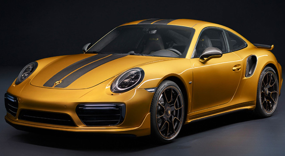 La Porsche 911 Turbo S Exclusive