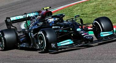 GP di Imola, 2° turno libero: Bottas batte Hamilton per 10 millesimi, incidente per Leclerc