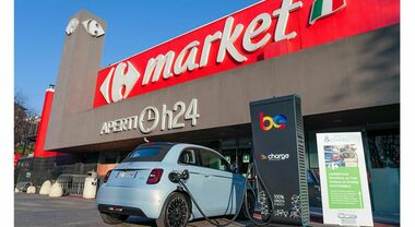 Fca presenta 'Shop & Charge' con Carrefour e Be Charge: ricaricare l'auto facendo la spesa