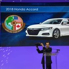 Honda Accord è North American Car of the Year 2018. Alla Volvo XC60 il titolo Utility